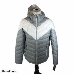 Brand new Men's Michael Kors Grey Puffer Jacket Sm